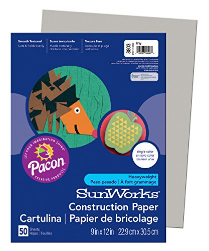 PACON CORPORATION SUNWORKS 9X12 GRAY 50CT