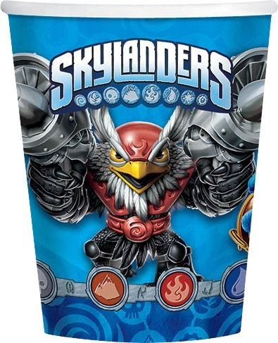 Skylanders Evergreen Party 9oz Party Cups 8 Ct