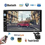 Camecho 7-inch 2 Din Car Multimedia Player Autoradio Bluetooth Touch Screen MP5 Player