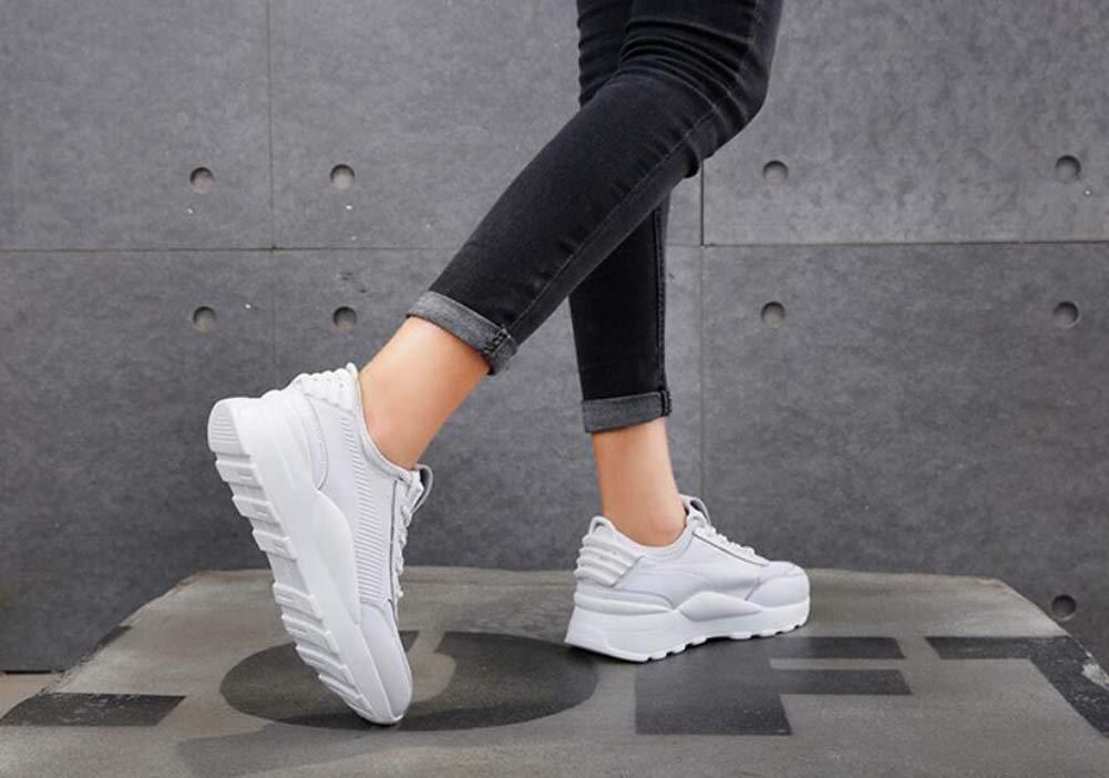 Frauen pumpen Laufen Casual schuhe Spitze Up Farb-Match-Sport-Schuhe 2019 2019 2019 Spring New Snekers Eu Größe 35-40 feb96e