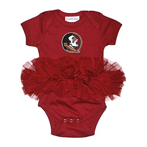 Florida State Seminoles Newborn Infant Tutu Creeper Bodysuit (0-3 (Tutu Cute Onesie)