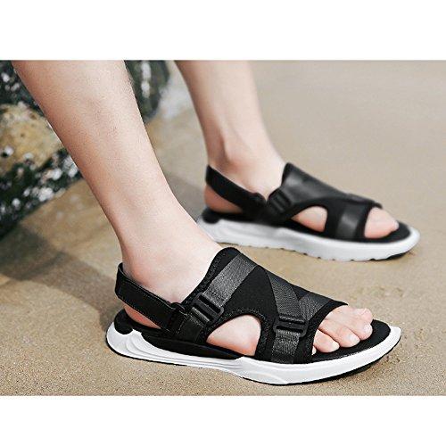 da estivi spiaggia 41 3 Gray Size Sandali antiscivolo Black Color EU regolabili 1 BEwgBdq