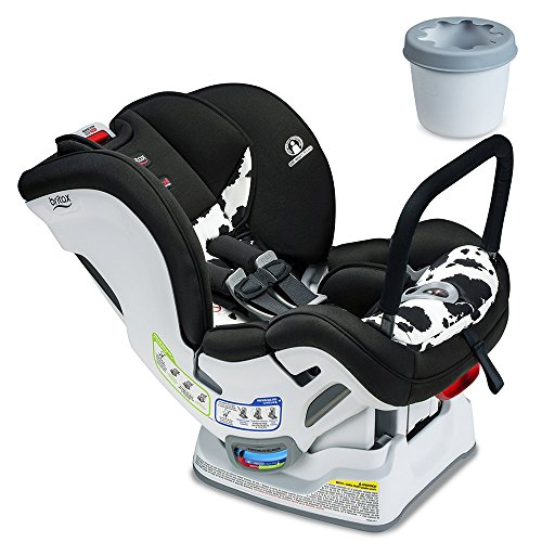 Britax Marathon ClickTight ARB Convertible Car Seat, Cowmooflage with Cupholder Set
