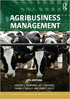 Book Agribusiness Management (Routledge Textbooks in Environmental and Agricultural Economics)