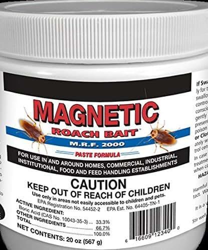Roach Bait Paste German Roach Killer Boric Acid 33% Not For Sale To: Ca Ny Nj Sd