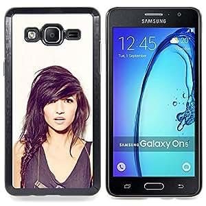 """Qstar Arte & diseño plástico duro Fundas Cover Cubre Hard Case Cover para Samsung Galaxy On5 O5 (Sexy Girl"""")"""