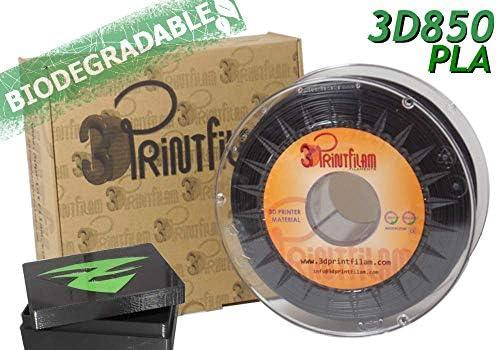 3DPrintfilam® Filamento PLA Premium Ingeo 3D850 Negro 1,75 mm 1Kg ...