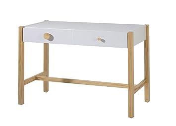 Venta muebles bureau blanc am teyo bois amazon cuisine maison