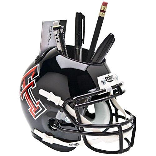 Schutt NCAA Texas Tech Red Raiders Mini Helmet Desk Caddy