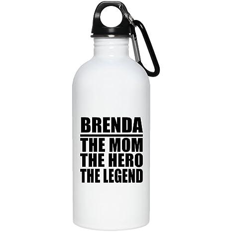 Amazon.com: designsify mamá botella de agua, Brenda La mamá ...