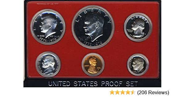 1996 S Proof Set US Mint Original Box 5 Coins