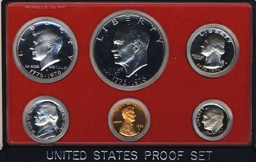1976 U.S. Proof Set in Original Government Packaging from Proof Sets