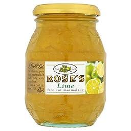 Rose\'s Key Lime Marmalade 16oz Jar