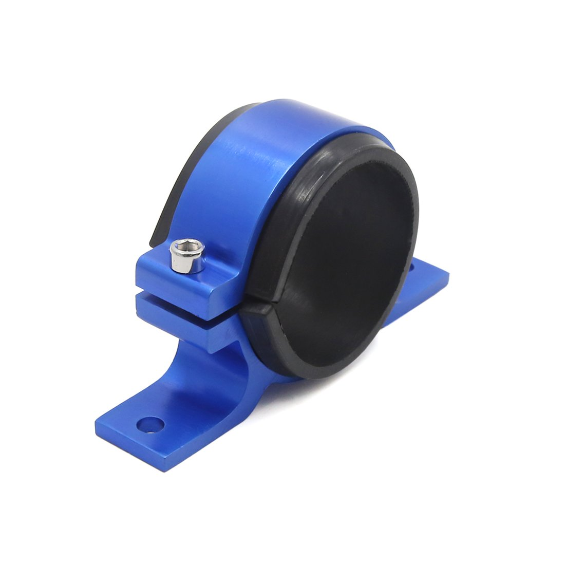 uxcell Blue Aluminum Alloy Fuel Pump Mounting Bracket Clamp Cradle for Car Automobile by uxcell (Image #3)
