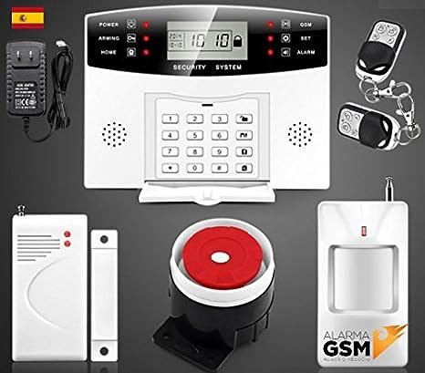 Kit Alarma GSM para hogar casa o negocio sin cuotas ...