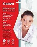 Canon Photo Paper Plus Semi-Gloss, 8.5 x 11 Inches, 20 Sheets (1686B020)