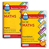 GCSE Maths (Foundation) & Maths (Higher) Study Pack | Pocket Posters: The Pocket-Sized Revision Guides | GCSE Specification | Free Digital Editions with Over 2,000 Assessment Questions!
