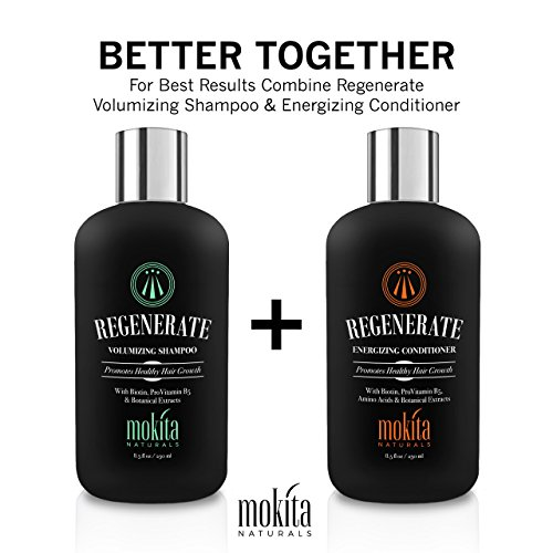 Hair Growth & Volumizing Shampoo Treatment 8.5 Oz | With Biotin, ProVitamin B5 & Botanical Extracts | Strengthen & Nourish Your Hair, Prevent Hair Loss Thinning & Breakage, Natural Hair Loss Products by Mokita Naturals (Image #7)