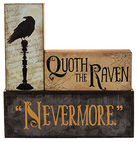 (Halloween Decoration - Quoth The Raven