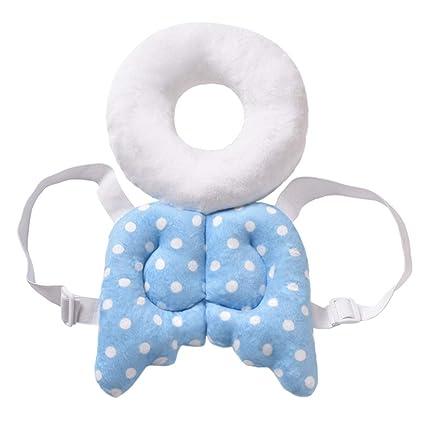 Yuccer Protección de Cabeza de Bebé Ajustable, Cojín de ...