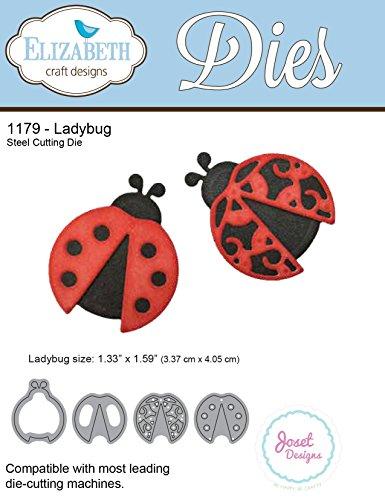 Elizabeth Craft Metal Die-Ladybug, 1.33
