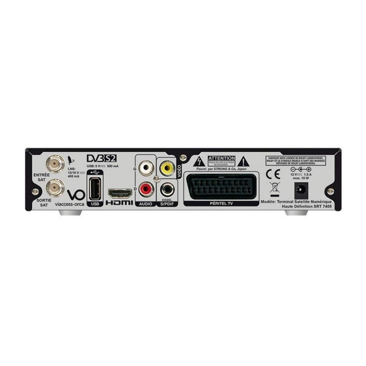 C/âble HDMI Strong R/écepteur Satellite HD LNB Single HDSAT Carte TNTSAT V6