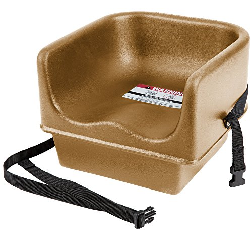 (Cambro 100BCS Beige Single Seat Booster Chair with Strap)