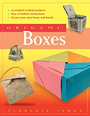 Origami Boxes: [Origami Book, 24 Projects]