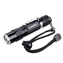 Castnoo LED Flashlight 1000 Lumens Super Bright 4 Modes Waterproof Mini Flashlight Torch