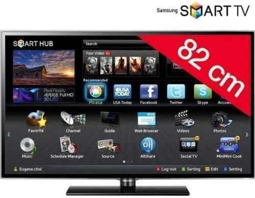 Televisor LED Smart TV UE32ES5500 + Kit de limpieza SVC1116/10: Amazon.es: Electrónica