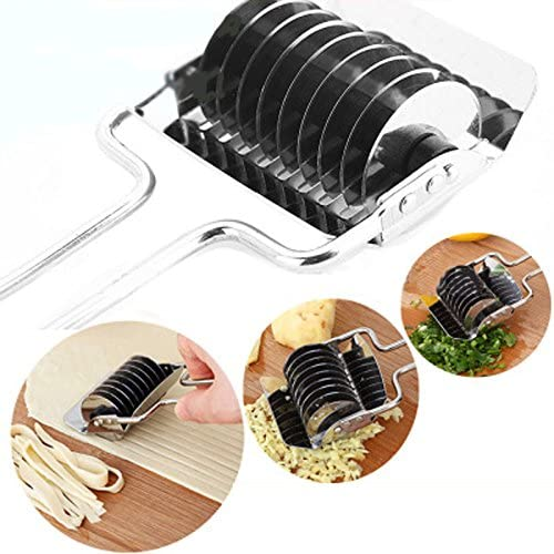 Smart Pasta Maker Machine Spaghetti Noodle Cutter Stainless Steel Non Slip