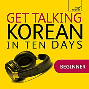 Get Talking Korean in Ten Days Speech