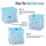 LightTheBo Money Maze Puzzle Box Gift Money Puzzle, Funny and Cool Brain Teasers for Kids - Safe for Boys, Girls, Teens