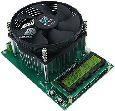 IENPAJNEPQN 150W Corriente Constante Carga electrónica 60V 10A del probador de la batería Capacidad de Descarga del Metro del probador 12V 24V 48V