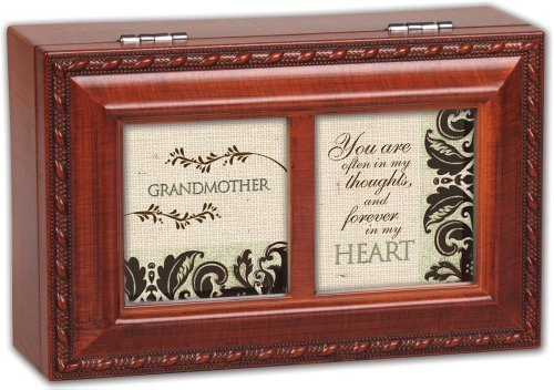 限定版 Cottage Garden Garden Grandmother Grandma Gift Woodgrain Gift Petite Music Up Box/ Jewelry Box Plays Light Up My Life by Cottage Garden B01A9QBE3Q, アップル商店:a4d67611 --- arcego.dominiotemporario.com