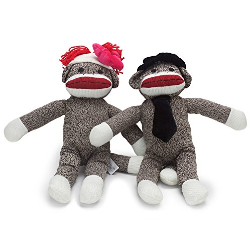 The Sock Monkey Family Woodie Wagon