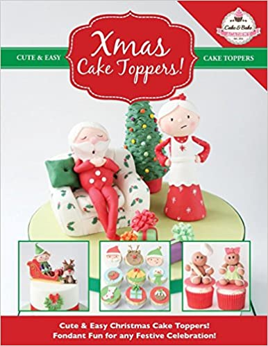 Christmas Cake Toppers.Xmas Cake Toppers Cute Easy Christmas Cake Toppers