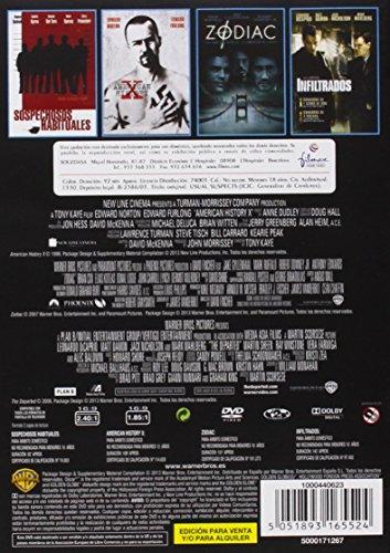 Pack: Sospechosos Habituales + American History X + Zodiac + Infiltrados [DVD
