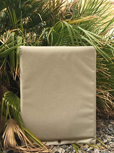 PipeWarmers Insulated Pouch - backflow Insulation Cover (16x20) (Outdoor Pipe Pvc)