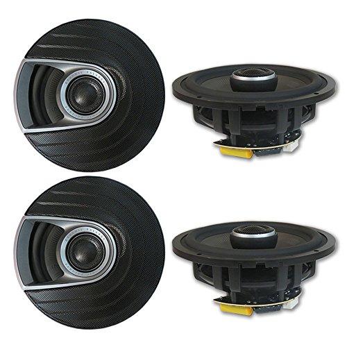 4 x Polk Audio MM 6.5 inch 2-way Car Marine audio Boat Motorcycle Coaxial Speakers 6-1/2