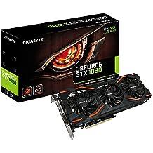 Gigabyte GeForce GTX 1080 Windforce OC GV-N1080WF3OC-8GD Graphics Cards