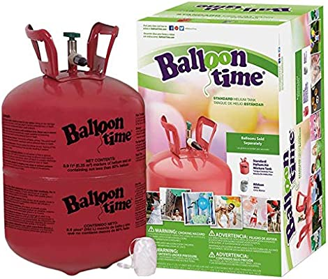 Balloon Time Helium Tank: Amazon com: Glamgals