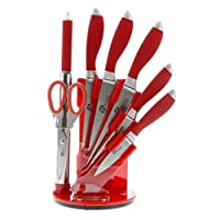 Pradel Excellence I7408 Bloc DE 5 Couteaux/1 Fusil/1 Ciseau 17,8 x 17,8 x 38 cm