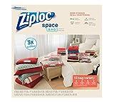 ziploc vacuum storage bags medium - Ziploc Space Bags Variety Pack, 13 Count