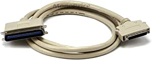 Monoprice 100741 6-Feet HPDB50 M/CN50 M SCSI Cable 25PR (100741)