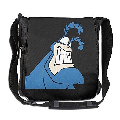 CMCGH The Tick Messenger Bag Traveling Briefcase Shoulder Bag For Adult Travel And Business Trip