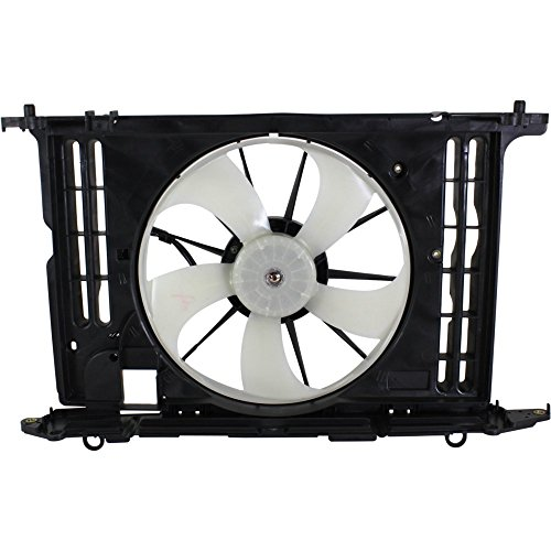 (Radiator Fan Assembly for COROLLA 09-13 1.8L Eng. upper shroud included)