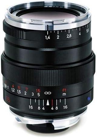 Zeiss Ikon Distagon T* ZM 1.4/35 Lente de cámara Gran Angular para cámaras Leica ZM, Negro, Modelo: 000000-2112-846