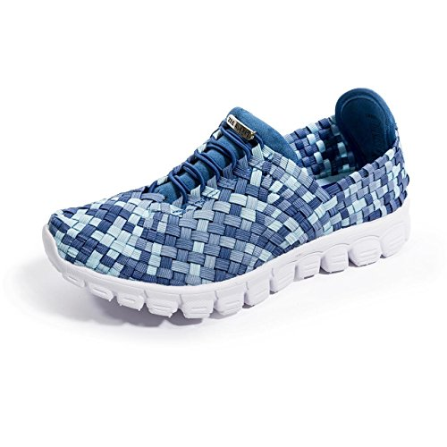 Zee Alexis Womens Danielle Sneaker Blu Multi