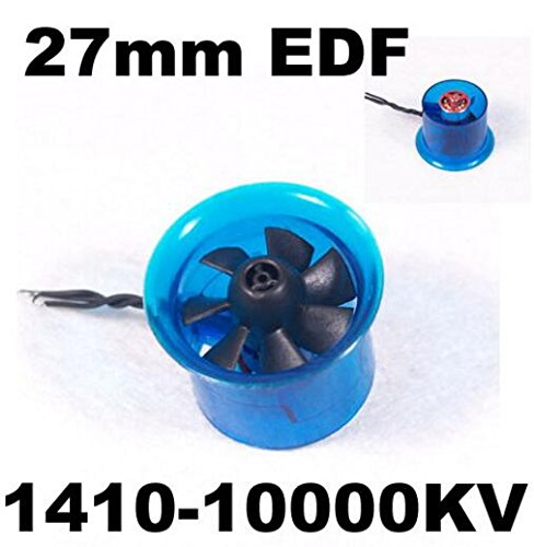 Mystery EDF Plus HL2708 1410-10000KV Brushless Motor 27mm EDF Ducted Fan Power System